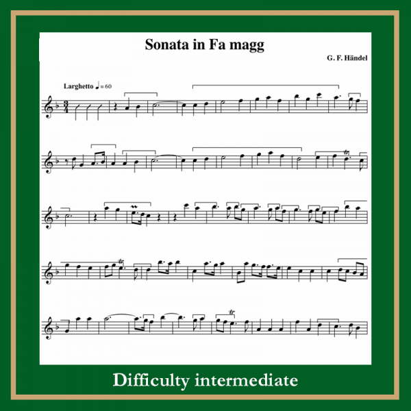 Haendel Sonata in F