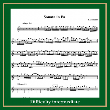 Marcello sonata in f