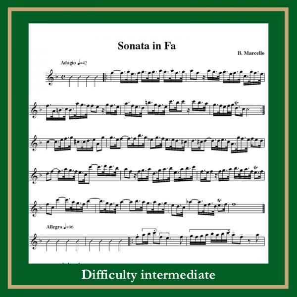 Marcello sonata in f