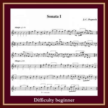 Pepusch Sonata in C