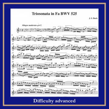 Bach BWV 525 Fl Bc