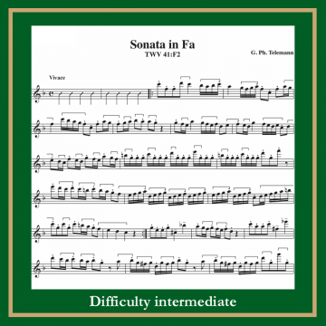 Teleman Sonata in F TWV 41:F2