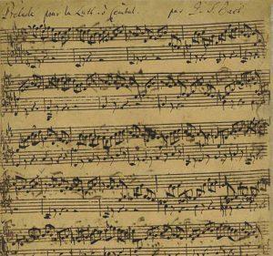 Bach Lute Prelude