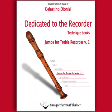 Jumps for Treble Recorder