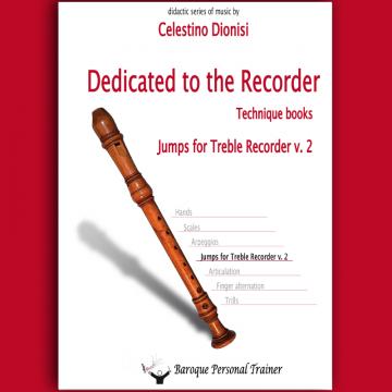 Jumps for Treble Recorder v. 2