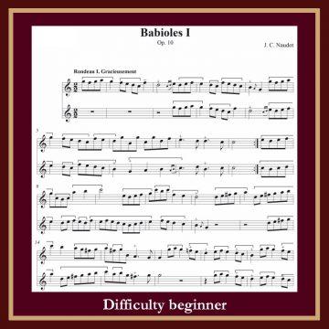 Naudot Babiole n. 1 op. 10